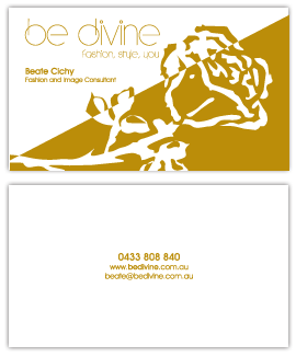 BeDivine Business card