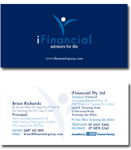 iFinancial Business card